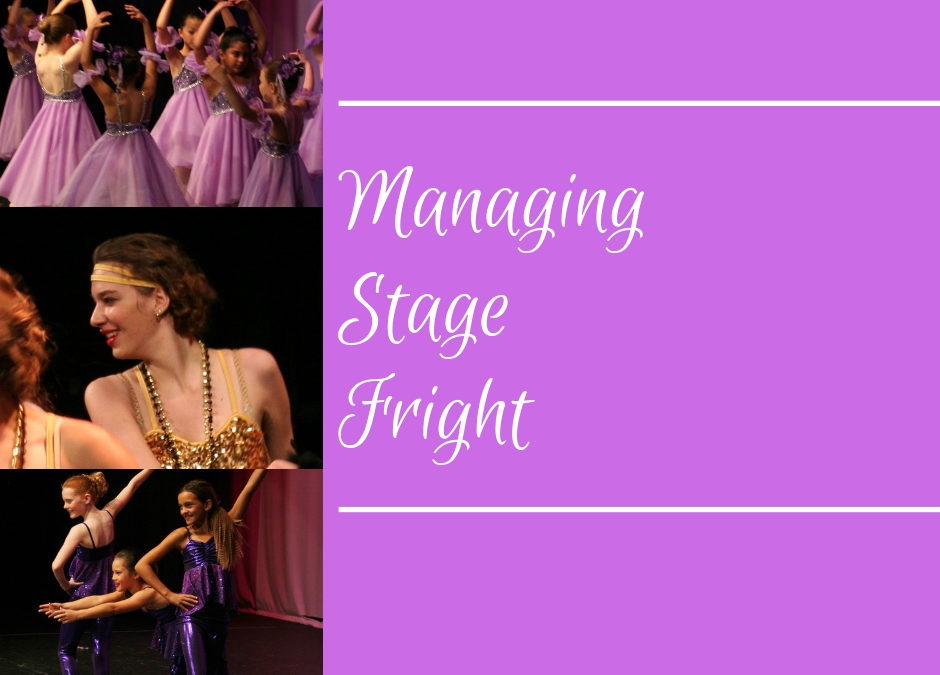 Managing Stage Fright Blog Post