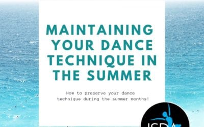 Maintaining your Dance Technique in the Summer