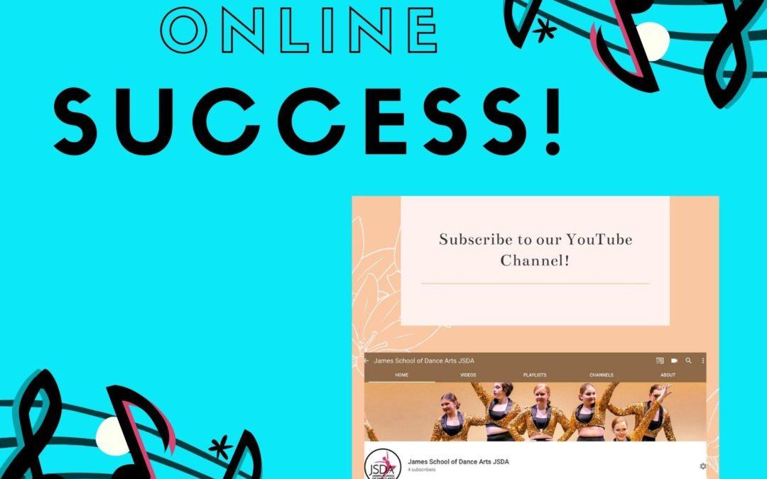 Online Success!